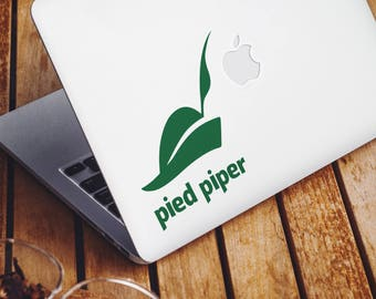 Pied Piper Logo (Silicon Valley) - Vinyl Sticker / Decal