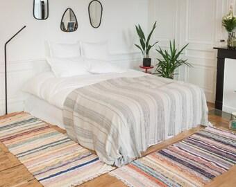 Scandinavian rug, runner rug,kilim rug,danish rug,boucherouite runner, tapis kilim, tapis bohème,tapis boho,tapis scandinave,turkish runner