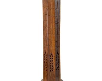 Incense Burner - Wooden Octagonal Tower