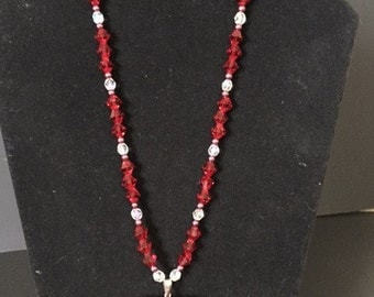 Classy Red Necklace