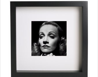 Marlene Dietrich photo print   Use in IKEA Ribba frame   Looks great framed for gift   Free Shipping   #12
