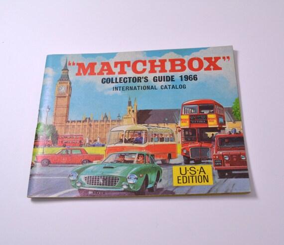 Rare Matchbox Collector's Catalogue 1966 Guide Mint