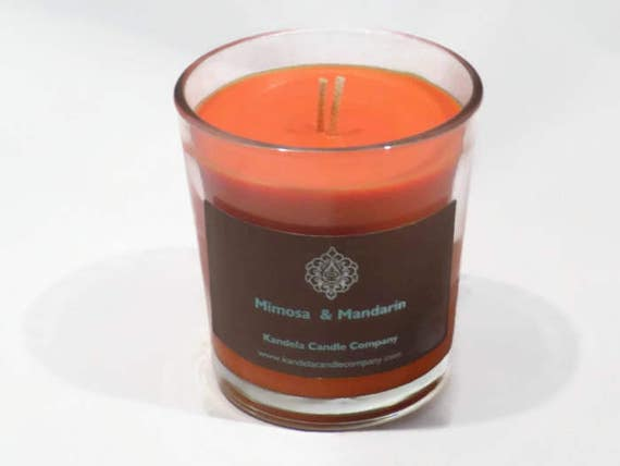 Mimosa & Mandarin Scented Candle in Classic Tumbler
