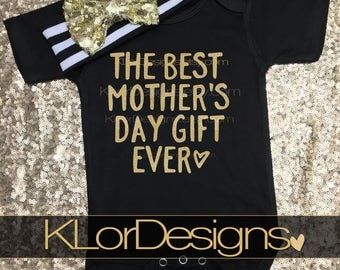 Mother's Day Gift, Mother's Day baby, Baby Girl, Happy Mother's day gift, Mother's day gift from baby, 1st Mother's Day gift, Mommy and me