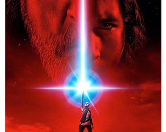 FREE SHIPPING PStar Wars the Last Jedi Movie Poster 11z17