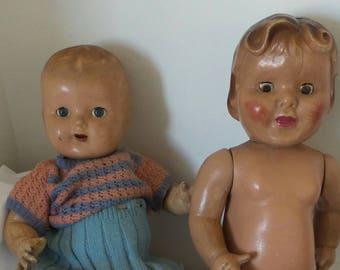 Antique dolls pair