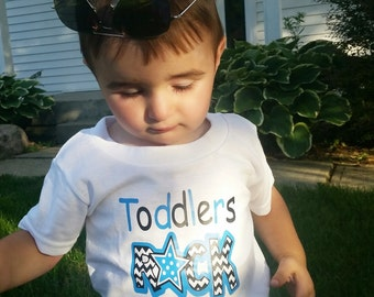 Toddlers rock, toddler shirt, toddler tee, Cute shirts, adorable toddler shirt, toddler boys shirt, toddler clothes, funny kids tshirts