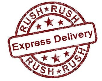 Rush my order - Express 1-2 Days Delivery