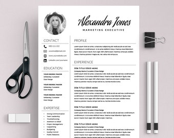 elegant resume template creative resume cv template cover letter ms word on