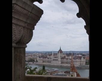 Budapest, Hungary Parliament Print