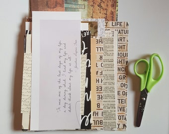 Words paper pack