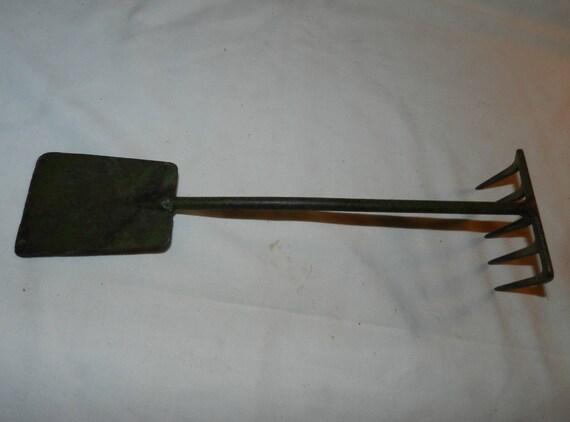 Garden tool vintage 1 piece hand held garden tool for Hand held garden spade