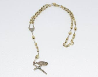 Mother-of-pearl rosary