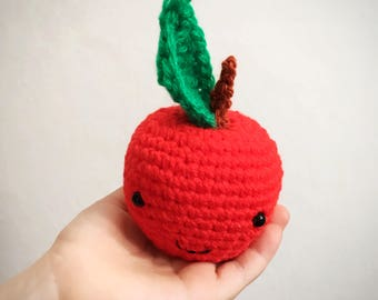 Crochet Apple Teacher Gift