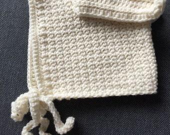 Bunny bonnet 12-18 months