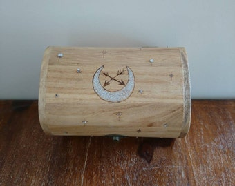 Hunters Moon Jewellery Box, Tarot card box, storage.