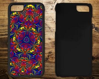 Kaleidoscope print, iPhone 7 case, iPhone case, iPhone 7 plus, iPhone 6/6s, iPhone 5c, iPhone 5/5s, iPhone 4/4s,Mobile phone case,
