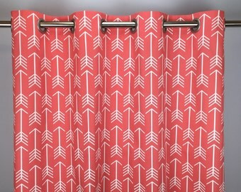 Arrow Curtains   FREE SHIPPING   Drapery Panels   Rod Pocket Drapes    Grommets   Lined