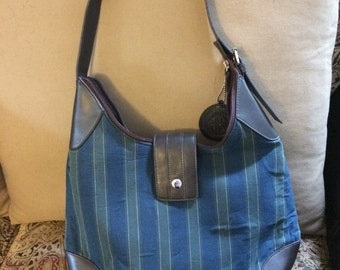 Vintage Longaberger  Cloth Purse Handbag