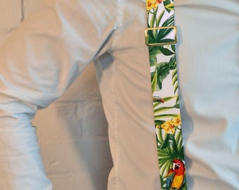 "Men's suspenders ""Tropics"",men's braces,men's straps,clip suspenders,dandy,retro,vintage,wedding,groom"