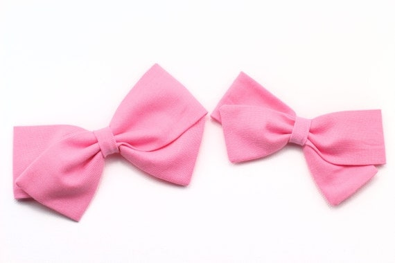 Baby girl, Girls fabric bow, toddler, baby shower -Pink Bow