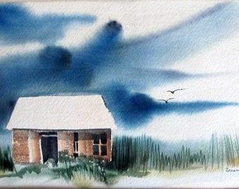 Original Watercolor by Brodnax