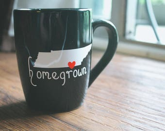 Homegrown Chattanooga coffee mug
