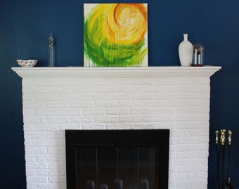 Autumn 1 // original abstract art // acrylic painting on canvas
