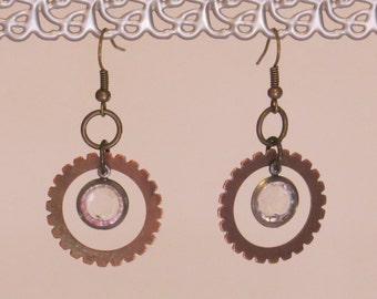 E-1730 Steampunk Earrings