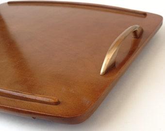 Vintage Baribocraft tray, Wood tray, Vintage tray, Wood Baribocraft tray, Wooden tray