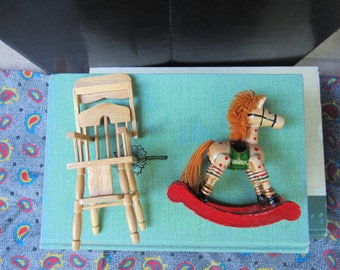 Doll Highchair Etsy