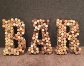 Wine Cork BAR Signs