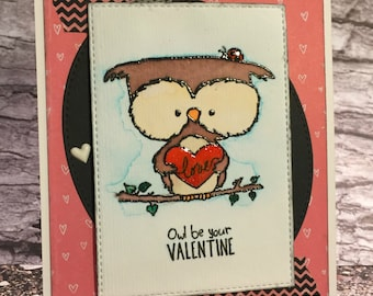 Handcrafted Greeting Card - Valentine (PAT-0030)