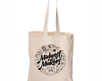 Midwest Maker Tote Bag