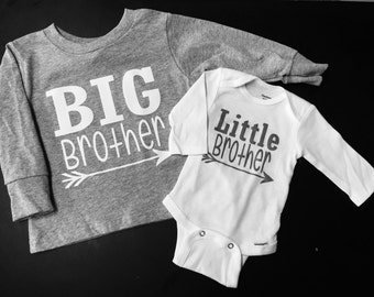 Big Brother_Little Brother Long Sleeve Set with Arrow