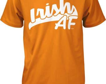 Irish AF, Irish Pride, 100% Irish Men's T-shirt, NOFO_00954