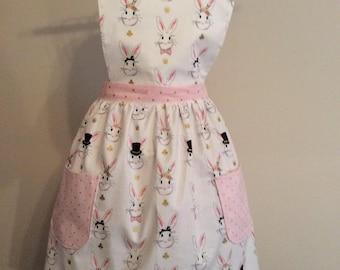 Woman's apron, mothers apron,cotton apron, woman's bib apron