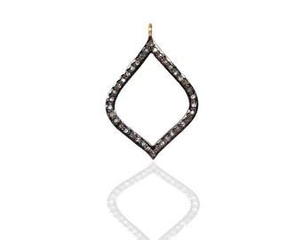 SDC-1409 Pave Diamond Charm