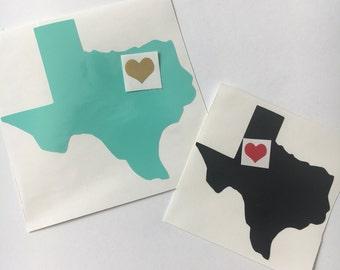 Tx Houston Decal Etsy - Vinyl decals houston tx