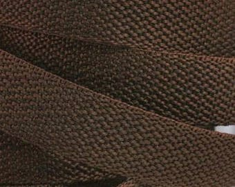 3 m belt bag strap 24 mm Brown