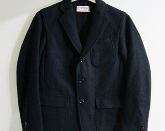 Vetra Navy Jacket Wool French