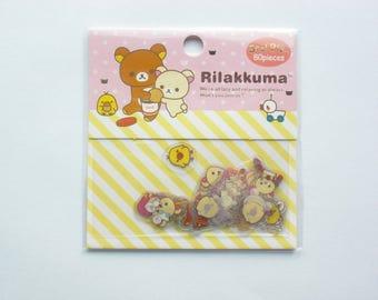 Rilakkuma sticker flakes