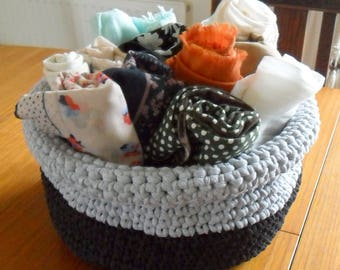 Extra Large Crochet Basket