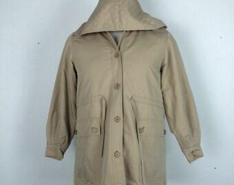 Vintage 80's Yves saint laurent hoodie jacket women jacket M size nice condition saint laurent paris