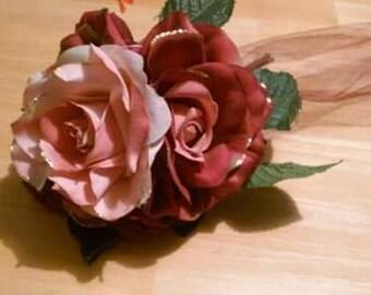 four big rose bouquet