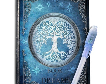 The Book Of Dreams Journal A6 with UV Pen