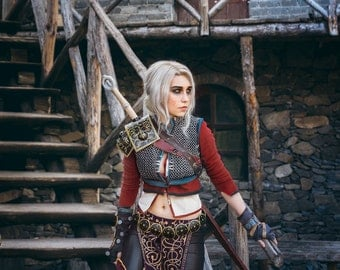 The Witcher CIRILLA cosplay print PACK