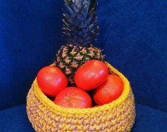 Jute Twine Hand crocheted baskets