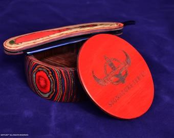 ARTTURI™ Pakkawood Signature Series Shave Bowl