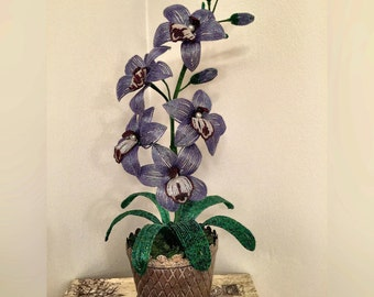 French Beaded Orchid